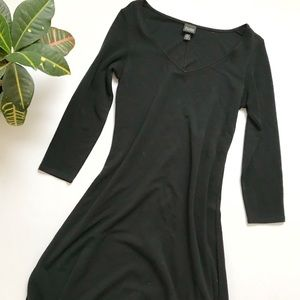Eileen Fisher 3/4 Sleeve Midi Dress